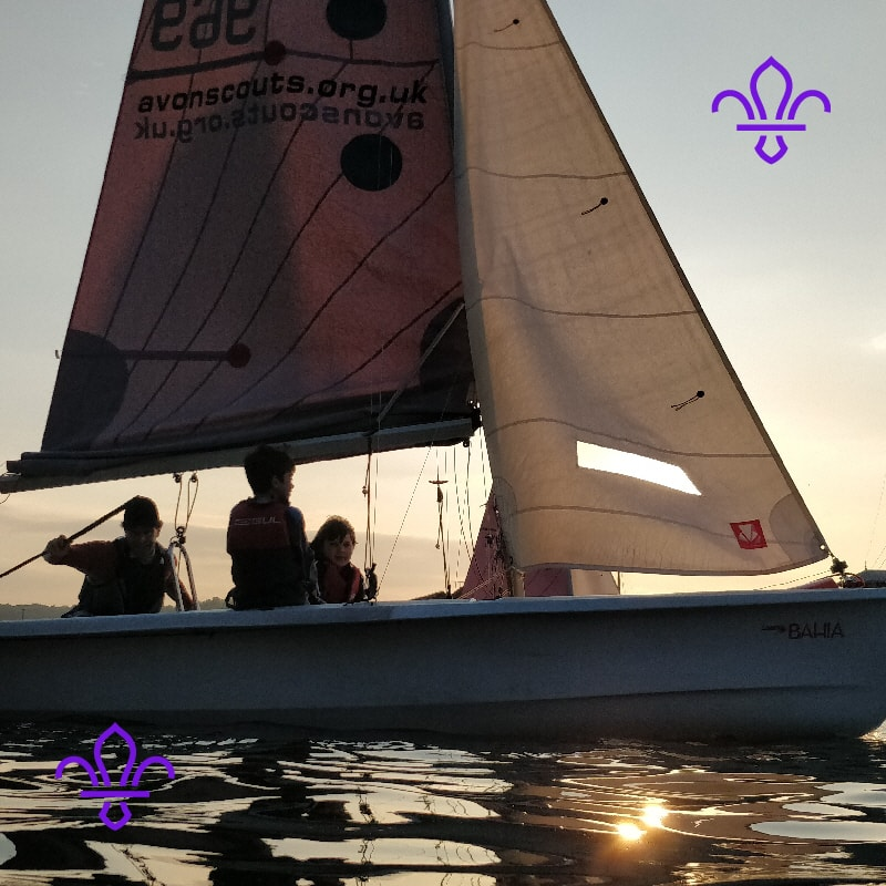 Scouts Sailing